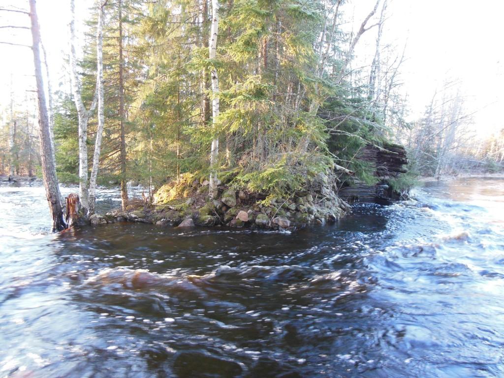 037 Liderkvarn raserade dammen