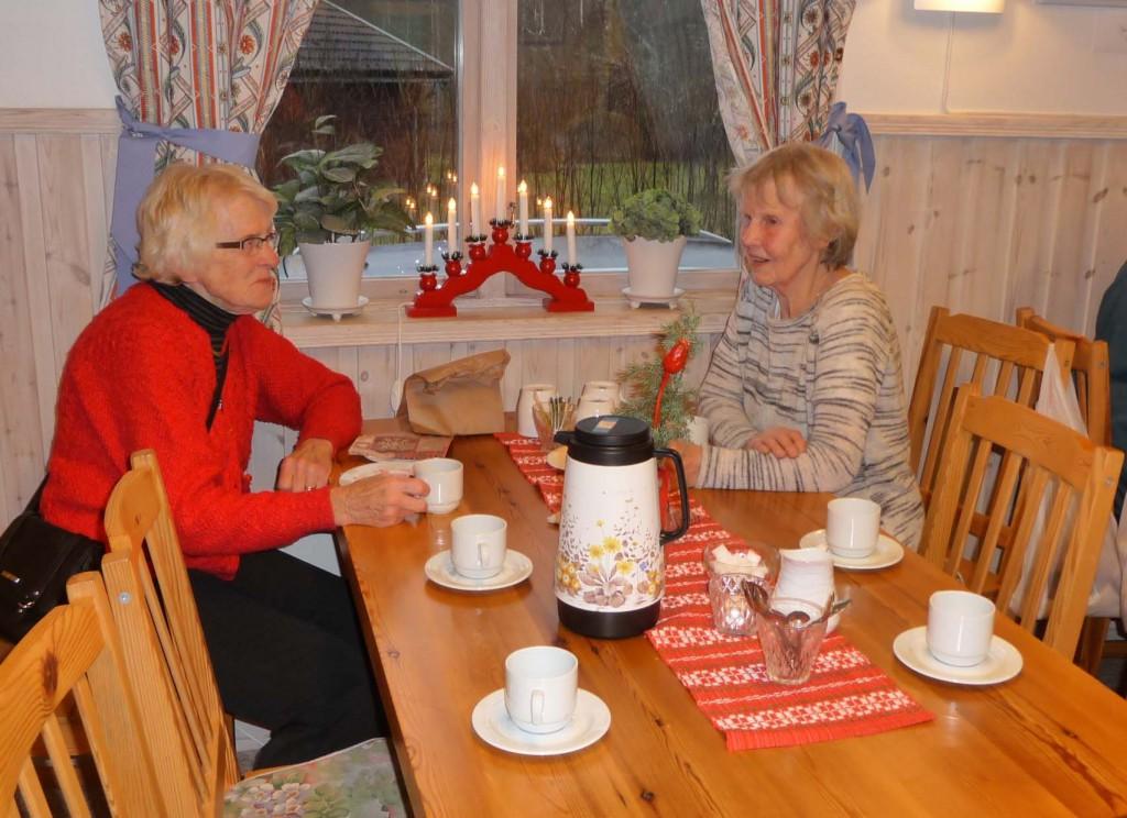 Ingrid Back och Anna-Brita Gudmundsson